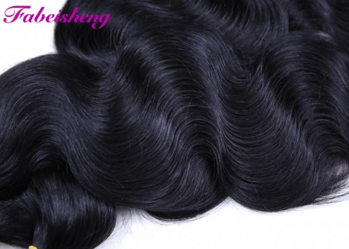 Body Wave Brazilian Human Virgin Hair Extensions Free Tangle 10 - 40 Inch