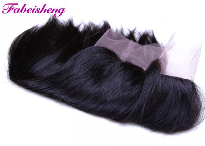 Brazilian Lace Frontal Closure , 360 Lace Band Closure For Black Women
