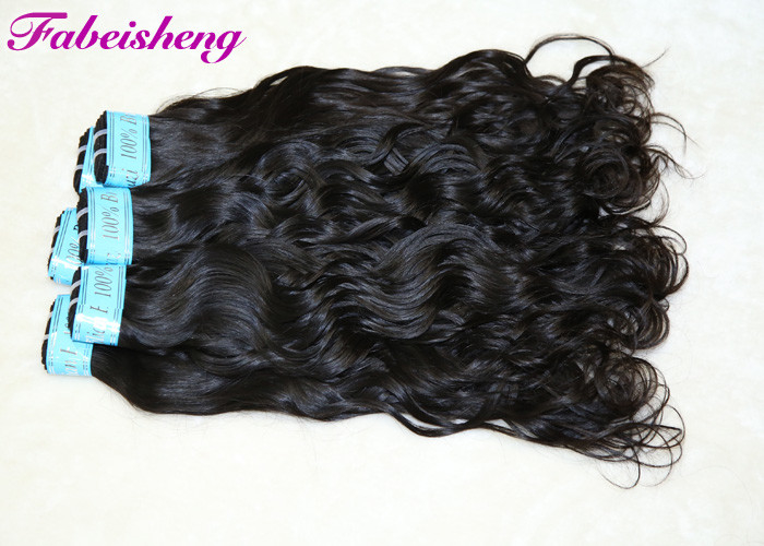Original Virgin Human Hair Natural Wave No Smell / Curly Hair bundles
