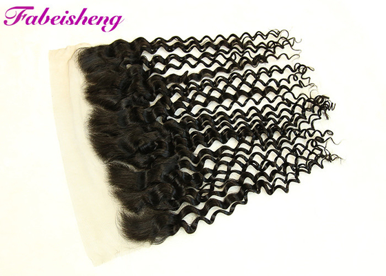 Deep Wave Cutical Align Hair 13 * 4 Lace Frontal With bund No Shilling